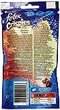 Felix Crispies Katzensnack, Rind und Huhngeschmack, 8er Pack (8 x 45 g) -