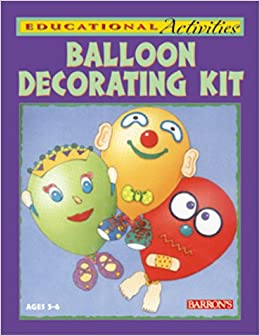 Balloon Decorating Kit with Cards and Punch-Out(s) and Balloon(s