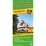 Wanderkarte Goslar, Hahnenklee, Altenau, Clausthal-Zellerfeld: 1:30000. Ausflugs-, Einkehr- und Freizeittipps, Stadtpläne, Harzer Försterstieg, Wanderwege Oberharzer Wasserregal