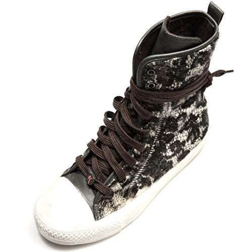 80571 sneaker alta MANILA GRACE MANILA-TENNIS CAVALLINO scarpa donna shoes women [40]