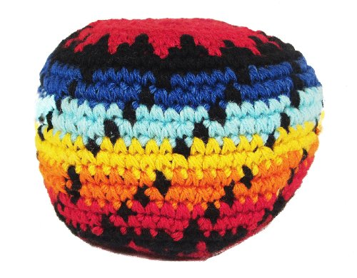 Hacky Sack - Black Dot Twist
