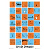 Bunny Suicides (Collage) Art Poster Print