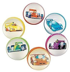 FE Race Car Bouncing Balls Bulk [Toy]