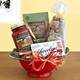 California Delicious Gift Basket, Organic Italian Feast