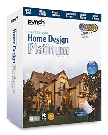 Professional Home Design Suite Platinum - Old Version