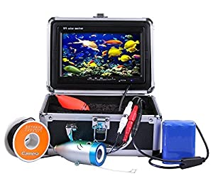 "Vanxse® Underwater Fish Camera System 7"" TFT LCD 700tvl Hd Underwater Video Camera 30m Cable Fish Finder"