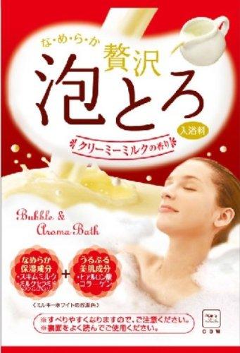 お湯物語 贅沢泡とろ Cミルクの香り 30g