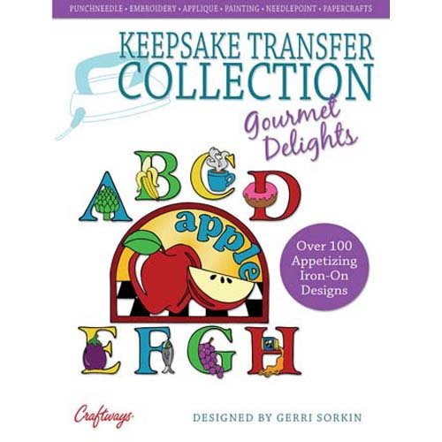 Keepsake Iron-On Transfer Collection Gourmet Delights