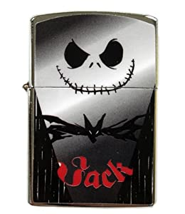 Jack Skellington Zippo Lighter - Nightmare Before Christmas WindProof ...