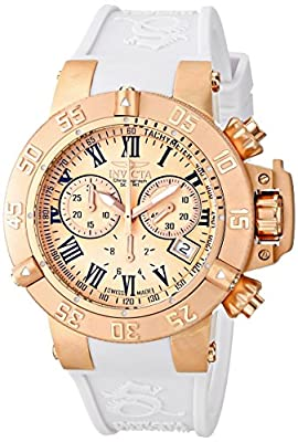 Invicta Women's 16878 Subaqua Analog Display Swiss Quartz White Watch