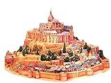 (ゲットオン)GETON 世界遺産 ペーパークラフト モンサンミシェル ミッシェル 修道院 フランス