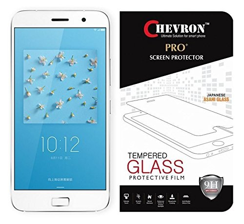 Chevron LENOVOZ1_TEMPERED_1 2.5D 0.3mm Pro+ Tempered Glass Screen Protector For Lenovo Zuk Z1  available at amazon for Rs.95
