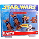 Fast Through the Forest Star Wars Playskool Galactic Heroes Set