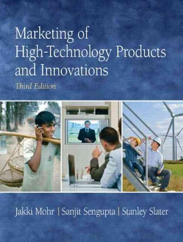 Marketing of High-Technology Products and Innovations...