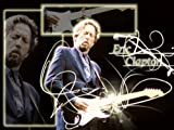 """Eric Clapton """"Layla"""" Gold 45 Record Limited Edition Display Laser Etched W/ Lyrics"""