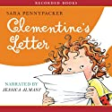 Clementine's Letter (       UNABRIDGED) by Sara Pennypacker Narrated by Jessica Almasy