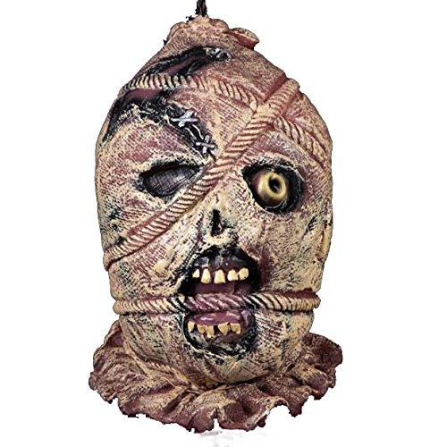RIUADA Bar Haunted House Props Zombie Skull Hanging Kito Halloween Mask