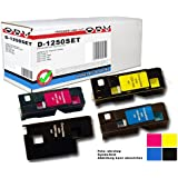 OBV 4x kompatibler Toner für Dell 1250 / 1250C / 1350 / 1350CNW / 1355 / 1355CN / 1355CNW je 1x schwarz, cyan, magenta, gelb