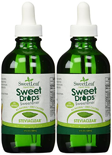 Sweetleaf Stevia Extract Clear Liquid 4oz X 2 (Stevia Clear Liquid Extract 4 Oz compare prices)