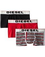 Diesel Men's 3-Pack Semaji Cotton Stretch Trunk