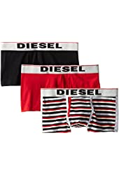 Diesel Men's 3-Pack Semaji Cotton Stretch Trunk