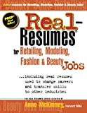 img - for Real-Resumes for Retailing, Modeling, Fashion & Beauty Jobs book / textbook / text book