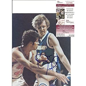 Dan Issel Denver Nuggets Autographed Signed 8x10 Photo W JSA by Hollywood+Collectibles