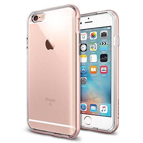 Spigen iPhone6s ケース / iPhone6 ケース, ネオ・ハイブリッド EX [ 二重構造 スリム フィット ] アイフォン6s / 6 用 (iPhone6s, ローズ・ゴールドSGP11725)