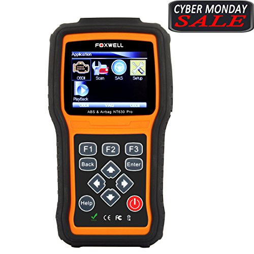 Foxwell Nt630 Pro Professional Engine/Abs/Airbag Sas Diagnostic Scan Tool,Can Obdii/Eobd Fault Code Reader (Automotive Scan Tool Professional compare prices)