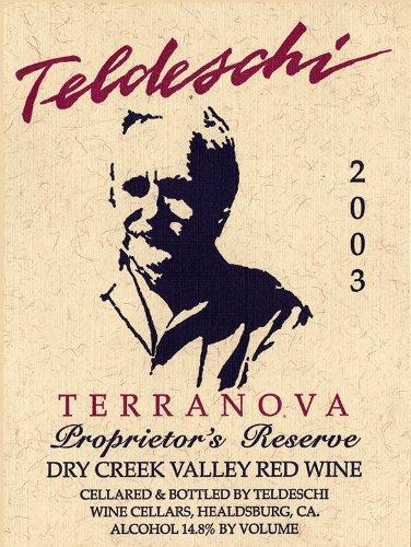 2003 Teldeschi Terranova, Dry Creek Valley 750 Ml
