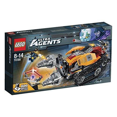 レゴ ウルトラ・エージェント ドリレックスのダイヤ強奪 70168