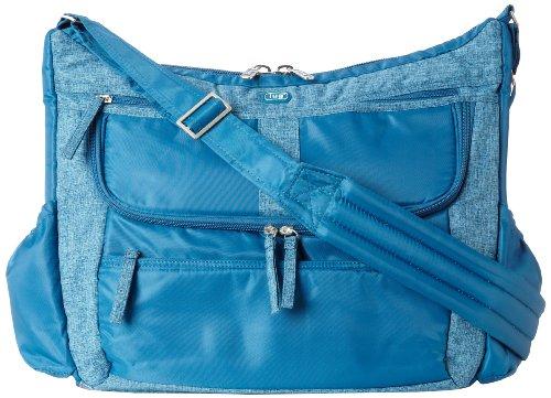 Lug Hula Hoop Carry-All Messenger, Ocean Blue, One Size
