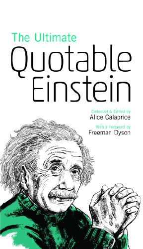 the ultimate quotable einstein. Black Bedroom Furniture Sets. Home Design Ideas