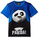 Kung Fu Panda Boys' T-Shirt (KFPTEE006_Cobalt Blue_3 - 4 Years)