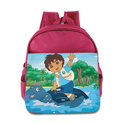 [Go, Diego, Go Diego Marquez Toddler School Backpack Pink] (Dora Diego And Boots)
