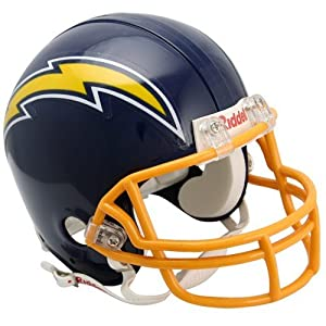 NFL Riddell San Diego Chargers Throwback Mini Helmet- by Riddell