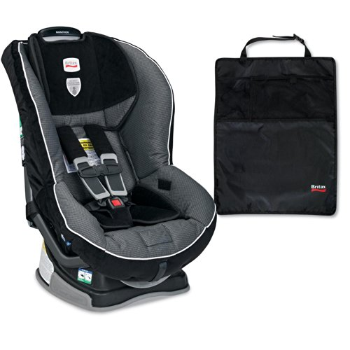 Britax Marathon G4 Convertible Car Seat And Kick Mats- 2 Pack, Onyx front-759405
