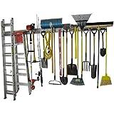Holeyrail, Garage Organizer, Garage Organizer, 8 Foot, Industrial Quality