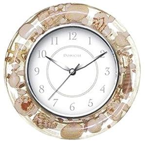 Seashell decorative wall clock authentic for Seashell clock