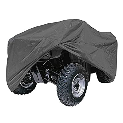 5-layer Waterproof ATV Cover for Any Sized All Terrain Vehicles Is a Indoor or Outdoor Coverlet That Will Protect Your Vehicle From Sun, Rain and Other Elements.