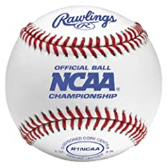 Rawlings NCAA Official Baseball - R1NCAA (One Dozen) by Rawlings