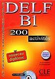 echange, troc Isabelle Normand, Richard Lescure - DELF B1 : 200 activités avec livret de corrigés (1CD audio)