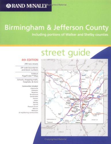 Rand Mcnally Birmingham Jefferson County & Vicinity: Street Guide