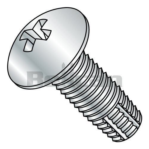 2-56 X 1//4 Phillips Pan Type F Thread Cutting Screw 18-8 Stainless Steel Package Qty 100