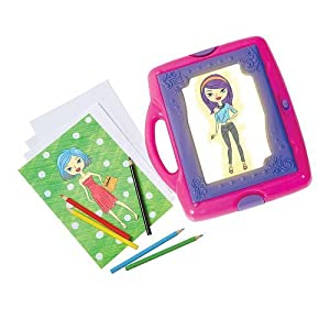 Totally Me Funky Fashion Tracing Desk Toys Games