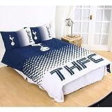Tottenham FC Fade Double Duvet Cover and Pillowcase Set