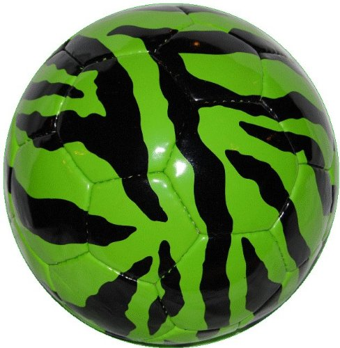 GREEN ZEBRA Safari Sportz® Soccer Ball Size 4