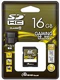 SDメモリーカード16GB (SDHC class10)Wii、3DS対応 [PC] [PC]