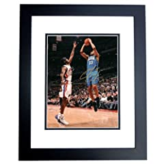Grant Hill Autographed Hand Signed Orlando Magic 8x10 Photo - BLACK CUSTOM FRAME by Real Deal Memorabilia