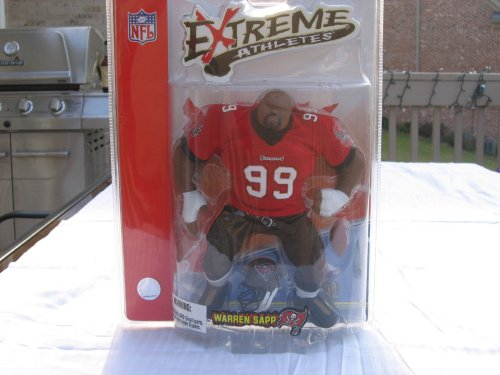 Extreme Athletes, Warren Sapp by Mezco - 1